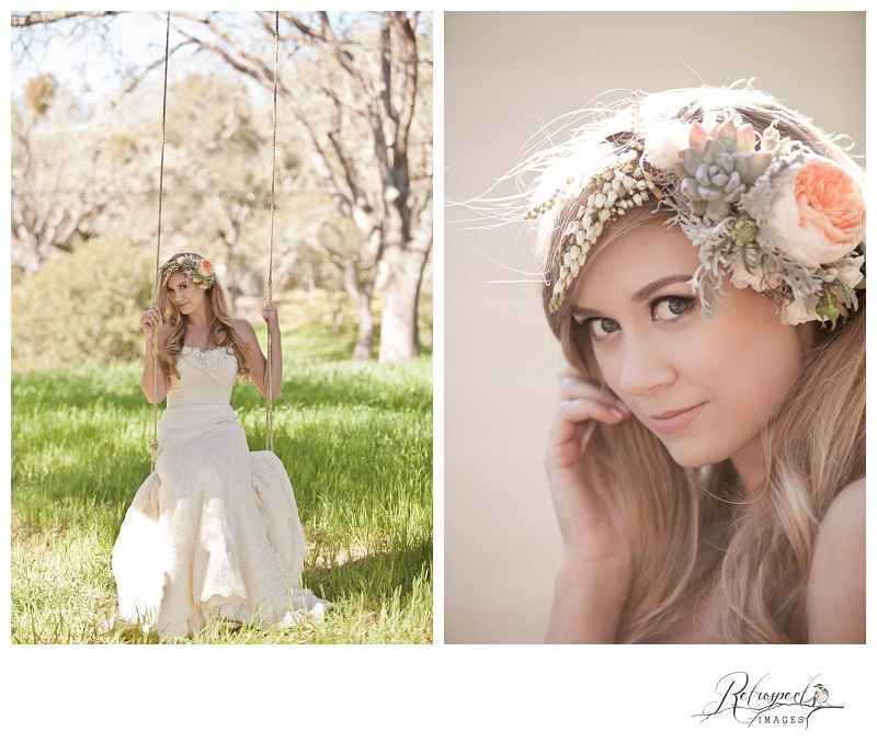 Styled bridal shoot at annadel estate winery santa rosa for Santa rosa wedding dresses