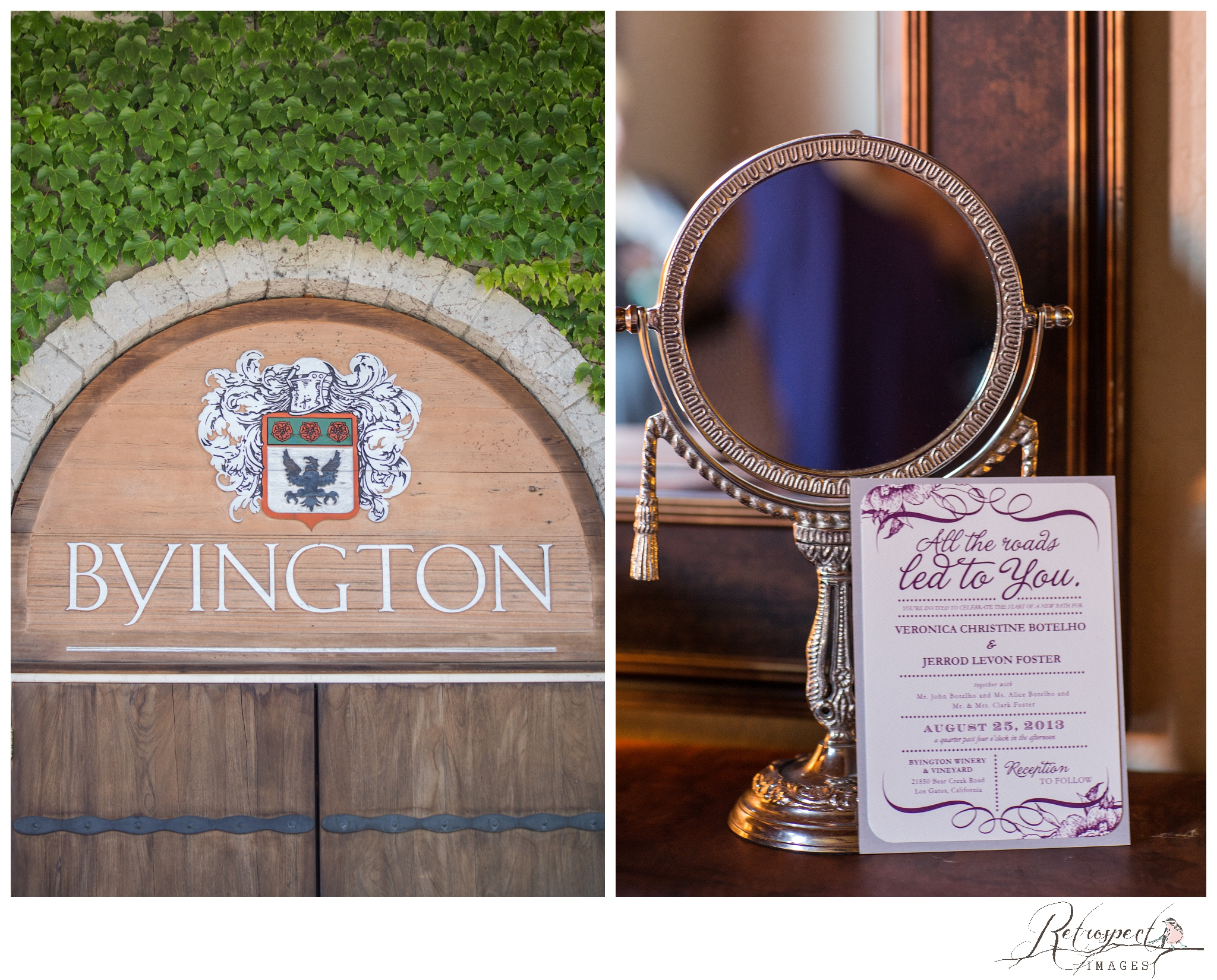 Byington Winery Wedding Byingtone Vineyard Winery Los