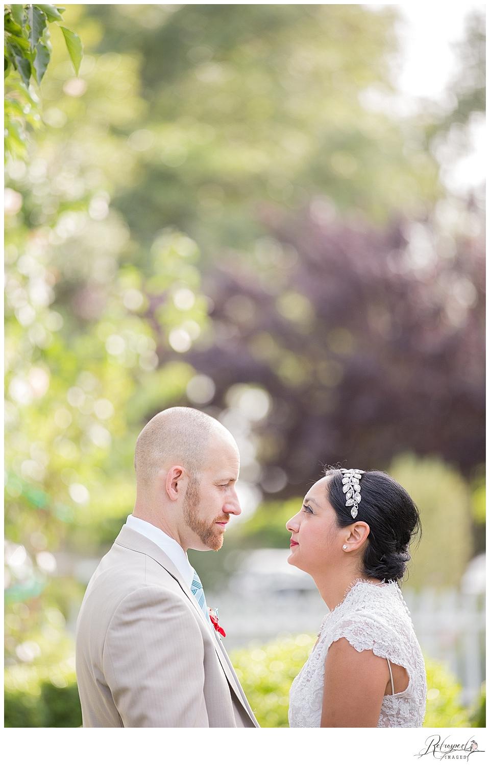 Cristina + John, Victorian Garden of Two Sisters Wedding ...