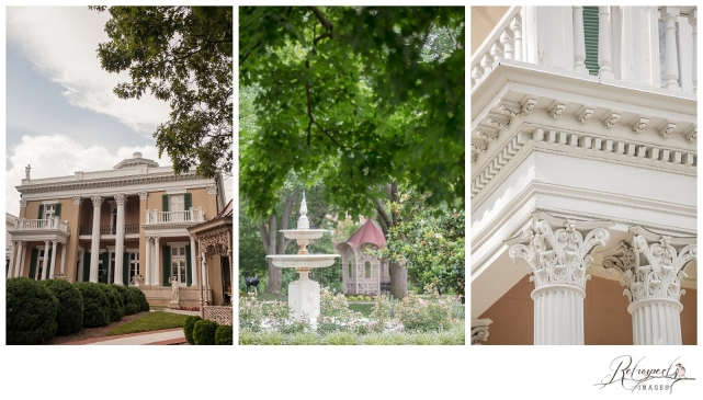 Belmont Mansion Vintage Nashville Tennessee Wedding