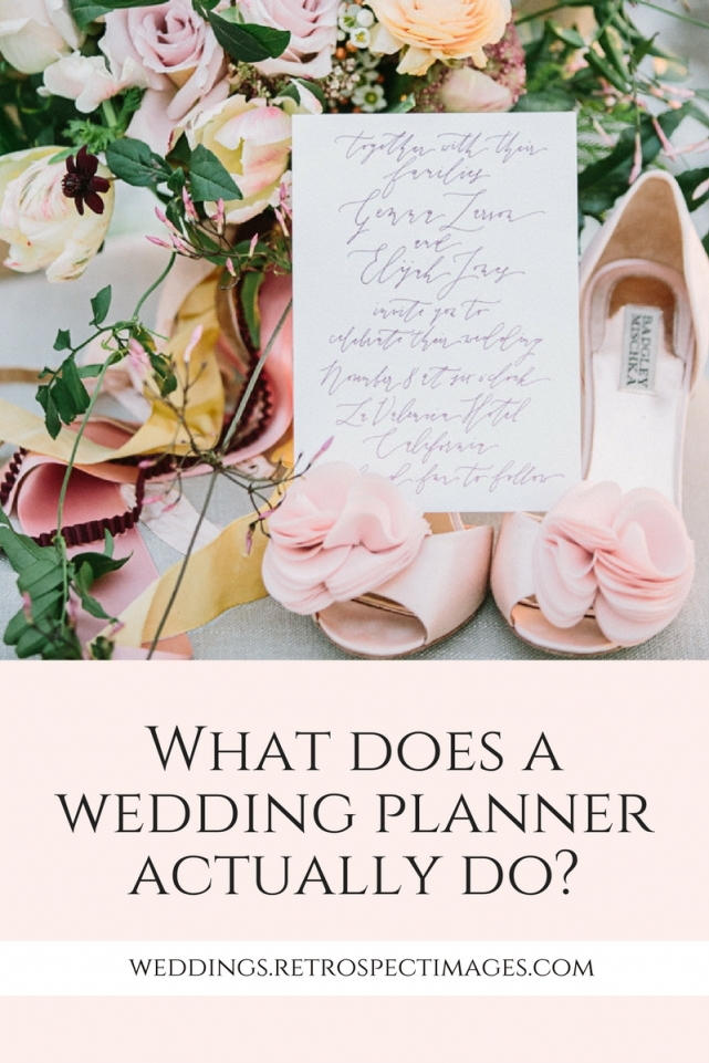 What does a wedding planner actually do_